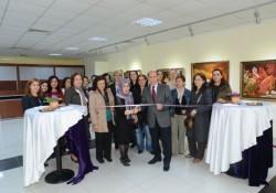 Renkli İfadeler Sergisi Açılışını Erhan Bayladı yaptı
