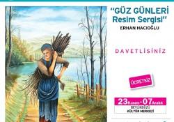 Erkan Hacıoğlu Kişisel Resim Sergisi